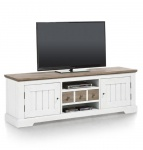 Szafka RTV LE PORT 180cm /pure white/